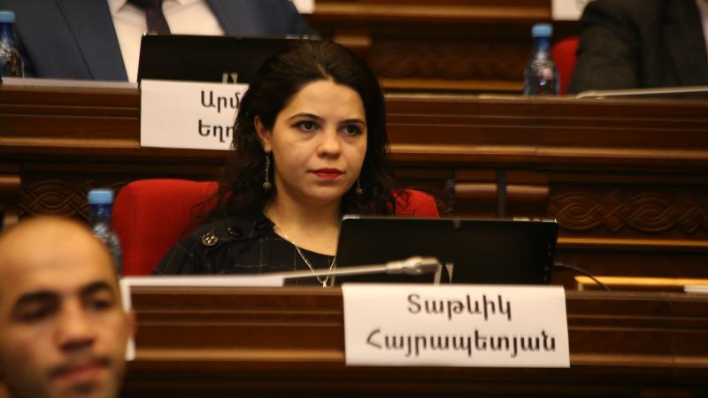 Ես վստահ եմ, որ հայ զինվորի թիկունքը չի կարող ընկրկել․ Տաթևիկ Հայրապետյան