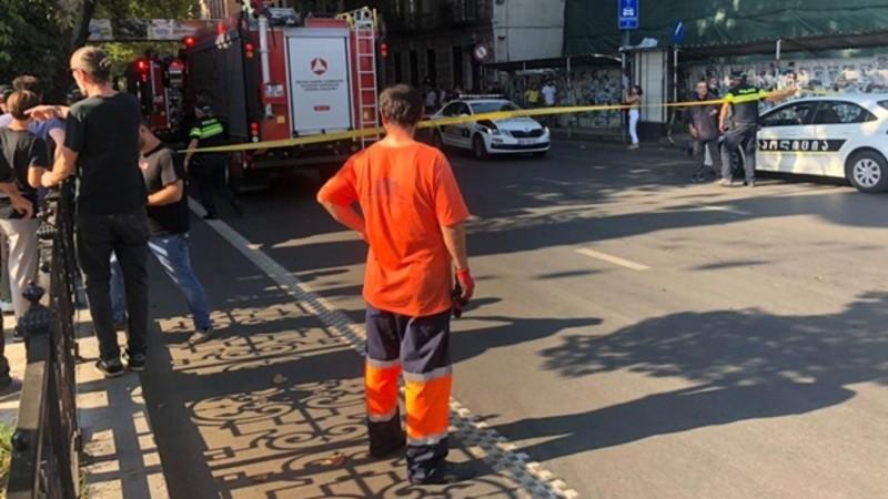 Պայթյուն Թբիլիսիի կենտրոնում. 1 մարդ զոհվել է, ևս 3-ը՝ վիրավորվել