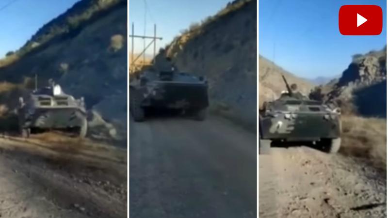 Բացառիկ տեսանյութ. Հարավային ուղղությամբ ջախջախված հակառակորդի զինտեխնիկան. Banak.info