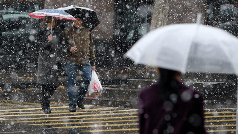 Տավուշի մարզի Նոյեմբերյան, Դիլիջան և Իջևան քաղաքներում տեղում է թույլ ձնախառն անձրև. ԱԻՆ