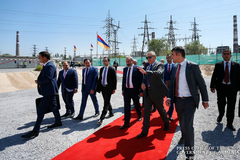 Վարչապետը ներկա է գտնվել նոր 250 մեգավատ հզորությամբ էլեկտրակայանի կառուցման մեկնարկի  արարողությանը