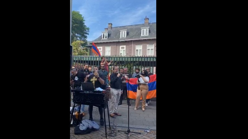 Նիդեռլանդերի հայերը ի աջակցություն Հայաստանի տոնախմբություն են կազմակերպել (տեսանյութ)