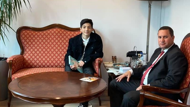 «Մանկական Եվրատեսիլ-2021» մրցույթում Նիդերլանդները կներկայացնի հայ պատանին. Տիգրան Բալայան