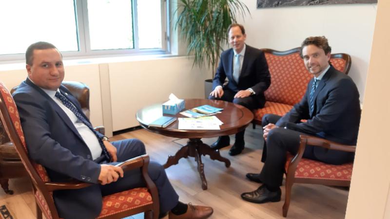 Դեսպան Բալայանը FMO-ի ներկայացուցիչների հետ քննարկել է Հայաստանում գործունեության ընդլայնման հնարավորությունները