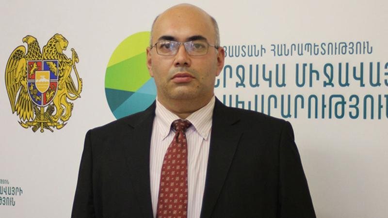 ՇՄ փոխնախարարի պաշտոնակատար Տիգրան Սիմոնյանն ազատվել է պաշտոնից