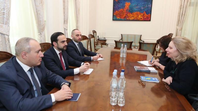 Փոխվարչապետ Տիգրան Ավինյանն ընդունել է Եվրոպայի խորհրդի գրասենյակի ղեկավարին