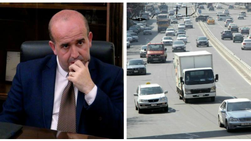Սեփական մեքենաներով և տաքսիներում թույլատրվելու է միայն երկու անձով (վարորդը ներառյալ) երթևեկելը․ Շիրակի մարզպետ