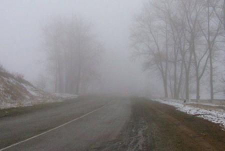 Գորիսի ավտոճանապարհներին մառախուղ է, տեսանելիությունը՝ 60-70 մետր