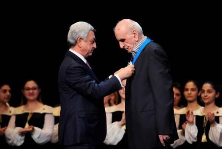 Նախագահը մասնակցել է Արտավազդ Փելեշյանի 80-ամյակին նվիրված հոբելյանական երեկոյին