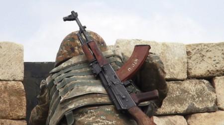 Հայկական կրակից ամբողջությամբ այրվել է հակառակորդի դիրքերից մեկը. հայ զինծառայող է վիրավորվել