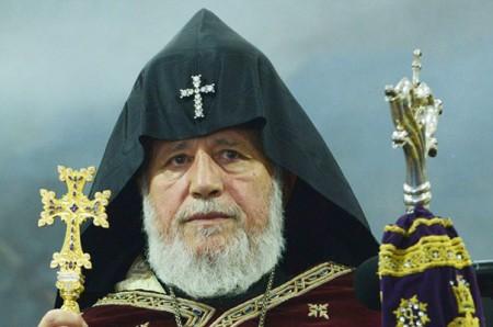 Կաթողիկոսը Սուրբ Հարության տոնի կապակցությամբ Հայրապետական պատգամ է հղել