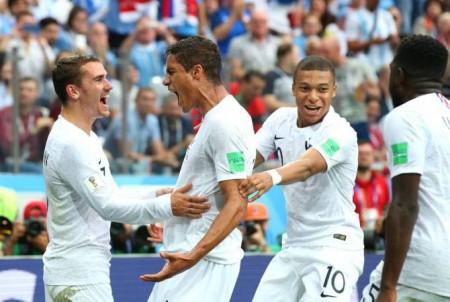 Ֆրանսիան հաղթեց Ուրուգվային և դուրս եկավ մունդիալի կիսաեզրափակիչ
