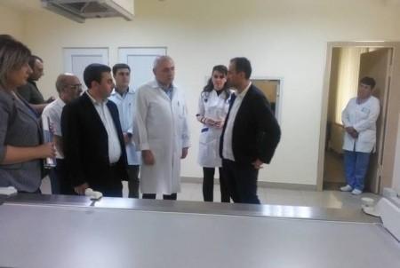 Առողջապահության նախարար Արսեն Թորոսյանն այցելել է Գեղարքունիքի մարզի բուժհաստատություններ
