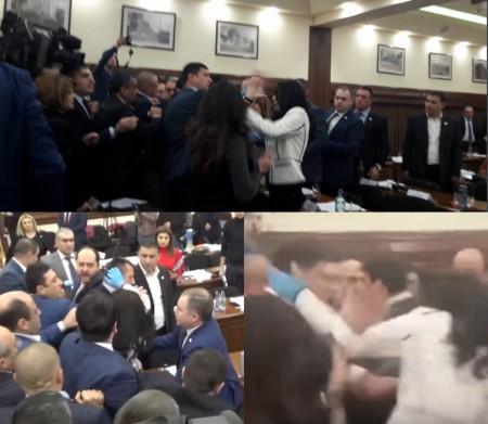 Ինչպես է «Երկիր ծիրանին» սադրում ՀՀԿ-ի երիտասարդ ավագանու անդամին և հետո բողոքում իր «եփած ճաշից» (տեսանյութ)