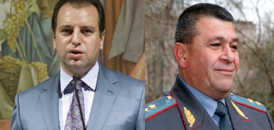 Վիգեն Սարգսյանի և Վլադիմիր Գասպարյանի նոր պաշտոնները որոշված են. Փաստ