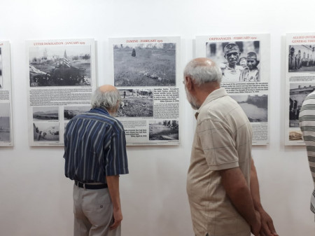 Էլդեր եղբայրների ցեղասպանությունից հետո հավաքագրած ապացույցները «Նարեկացի» մշակույթի միությունում (ֆոտոշարք)