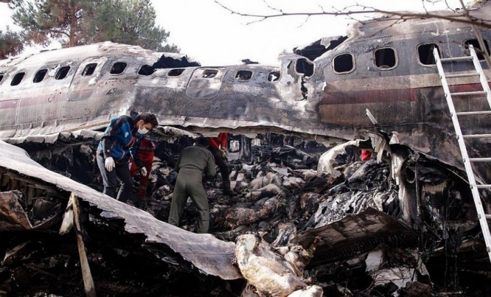 Թեհրանում կործանված ինքնաթիռը նախօրեին իրականացրել էր Երեւան-Կիեւ չվերթը