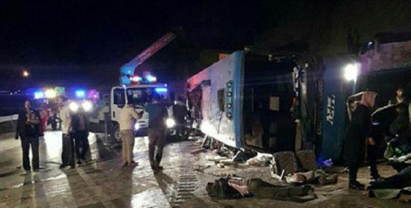 Իրանում ավտոբուսի վթարի հետևանքով 20 մարդ է մահացել