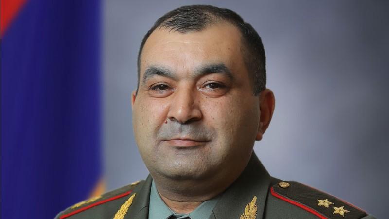 Տիրան Խաչատրյանը նշանակվել է  զինված ուժերի Գլխավոր շտաբի պետի առաջին տեղակալ