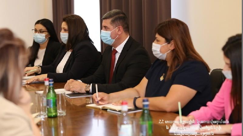 Համաշխարհային բանկը պատրաստ է աջակցել ՀՀ կառավարությանը. Գնել Սանոսյանն ու Կարոլին Գեգինատը քննարկում են ունեցել