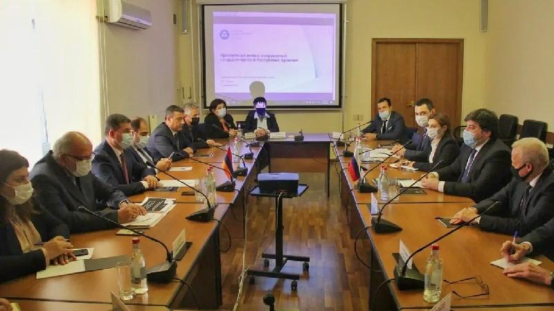 ՏԿԵՆ-ը և «Ռոսատոմը» քննարկել են ենթակառուցվածքների զարգացման ոլորտում համագործակցության ընդլայնման հարցեր