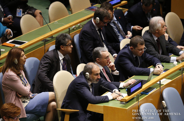 Վարչապետը՝ ՄԱԿ-ի  Գլխավոր ասամբլեայի 73-րդ նստաշրջանի ընդհանուր քննարկումների բացմանը (լուսանկարներ)