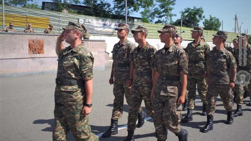 3-րդ զորամիավորումում հանդիսավորությամբ նշվել է զորամիավորման կազմավորման 25-րդ տարեդարձը