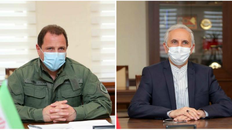 Դավիթ Տոնոյանն ընդունել է ԻԻՀ դեսպանին. զրուցակիցները կարծիքներ են փոխանակել թուրք-ադրբեջանական համատեղ զորավարժությունների բնույթի վերաբերյալ