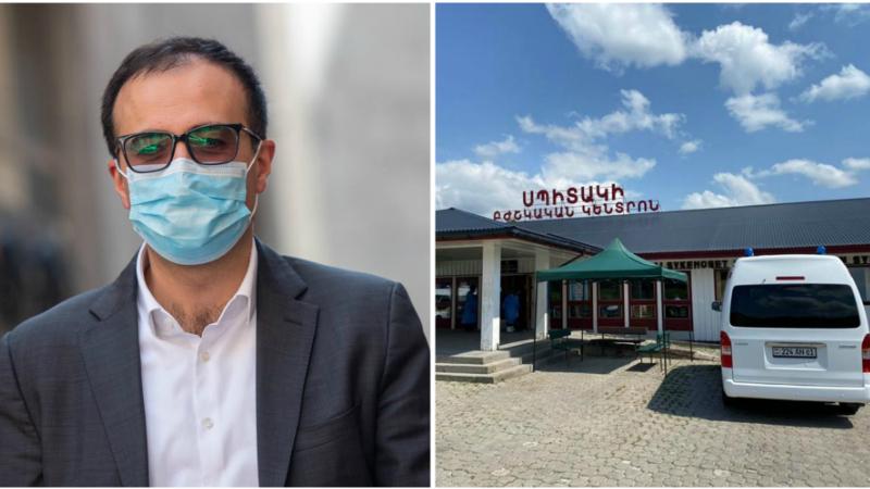 Սպիտակի բժշկական կենտրոնն այսօր միացավ կովիդի դեմ պայքարին՝ իր թթվածնով հագեցած 120 մահճակալներով. Արսեն Թորոսյան (լուսանկարներ)