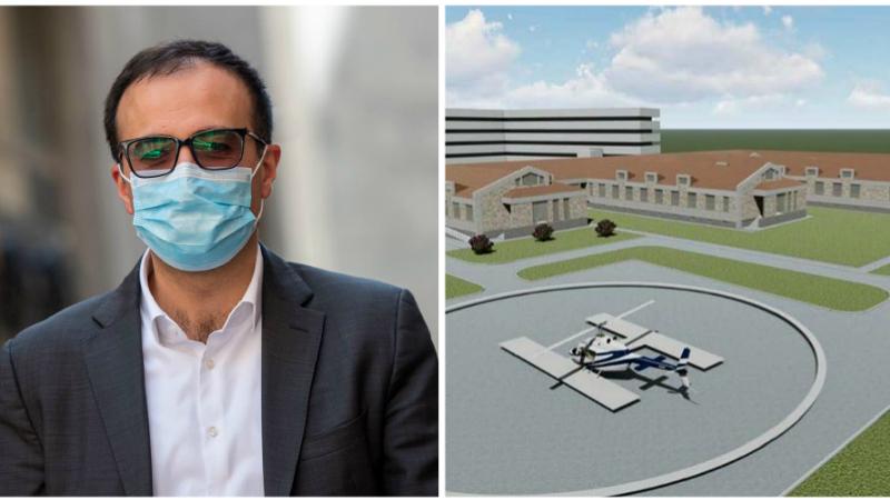 Մարտունու բժշկական կենտրոնի կառուցման շինարարական աշխատանքների մեկնարկը տրված է․ Արսեն Թորոսյան (լուսանկարներ)