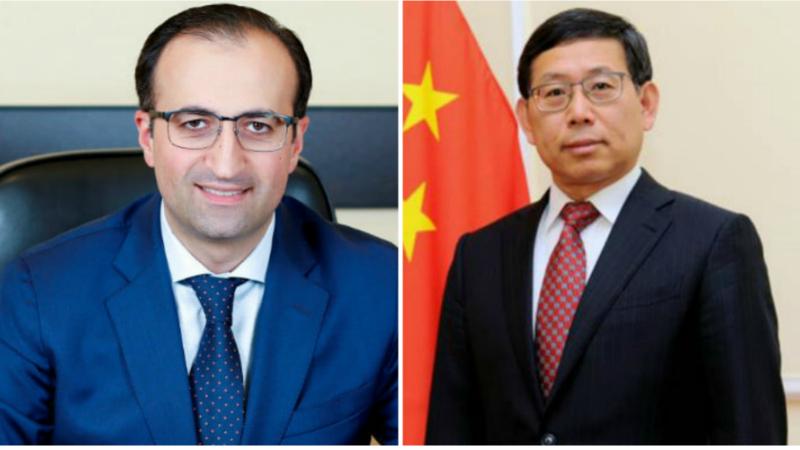 Արսեն Թորոսյանը և Հայաստանում Չինաստանի դեսպանը քննարկել են կորոնավիրուսի դեմ մշակվող չինական պատվաստանյութերի կիրառման հնարավորությունը
