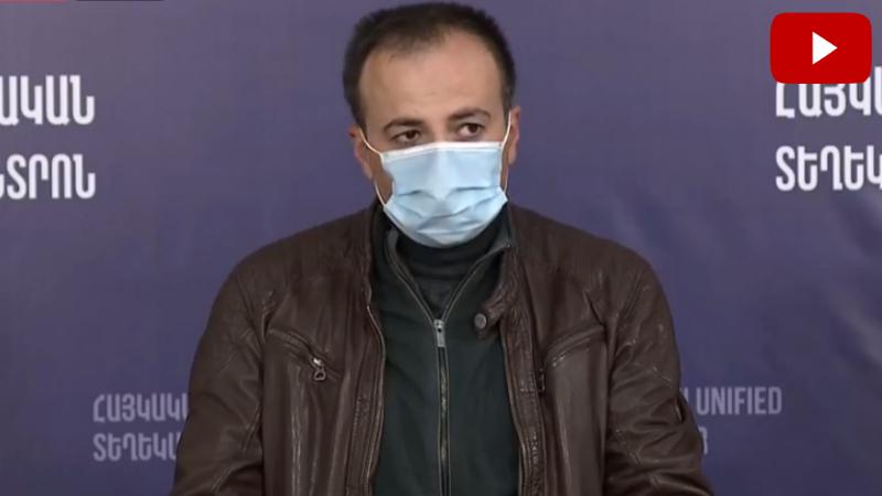 ՀՀ առողջապահության նախարար Արսեն Թորոսյանի ասուլիսը (ուղիղ միացում)