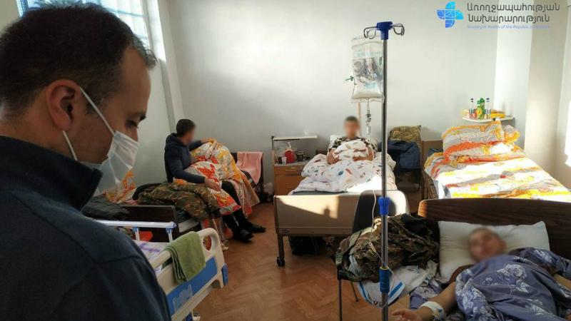 Արսեն Թորոսյանը Վարդենիսի և Մարտունու ԲԿ-ներում ծանոթացել է վիրավորների բուժման կազմակերպման գործընթացին (լուսանկարներ)