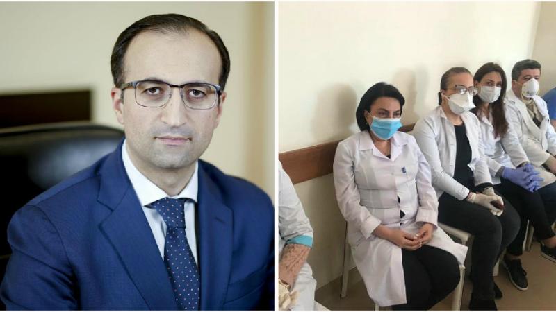 Նոր կորոնավիրուսի կանխարգելմանը և բուժմանն ուղղված վերապատրաստման դասընթացներին ներկա են եղել 331 բուժաշխատող․Արսեն Թորոսյան