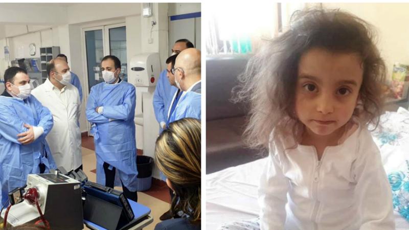 Այցելեցի Նորք-Մարաշ ԲԿ՝ ծանոթանալու նախօրեին վիրահատված փոքրիկ Անգելինայի առողջական վիճակին․ Արսեն Թորոսյան