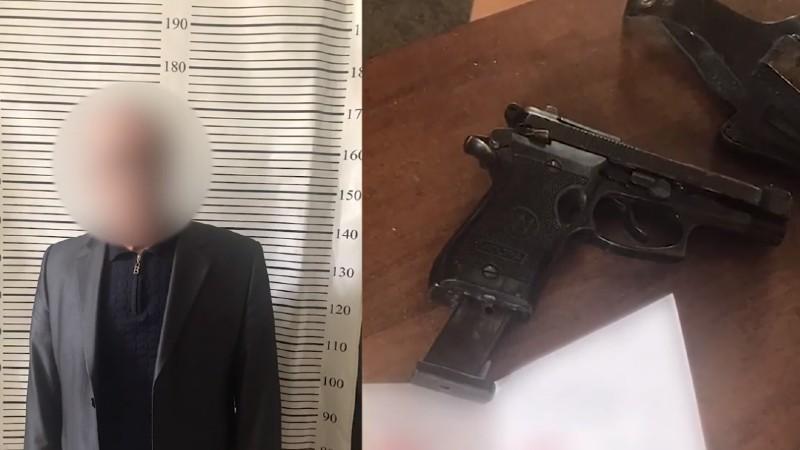 76-ամյա տղամարդն ատրճանակը ձեռքին սպառնացել է սպանել հարևաններին. ոստիկանություն (տեսանյութ)