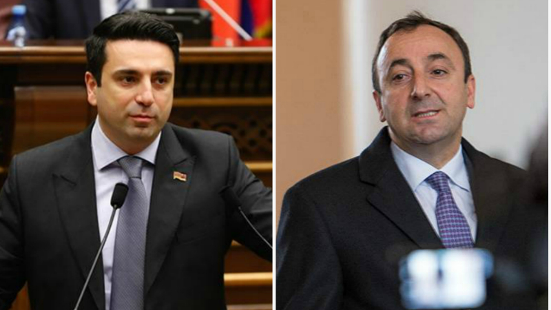 Պարոն Թովմասյանի եւ իրեն մերձ տարբեր լրատվամիջոցների ու գործիչների ցանկությունն է փոքր բաժակում փոթորիկ ստեղծելը. Ալեն Սիմոնյան