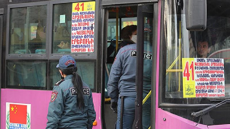 Ուղևորներն ու վարորդները պարտավոր են մեքենաներում դիմակ կրել. ՔՏՀԱ տեսչական մարմին