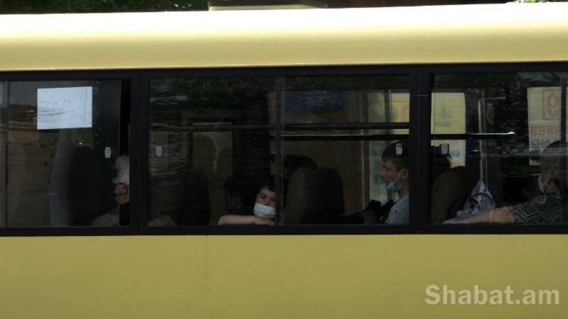Երևանի տարբեր վարչական շրջաններում հայտնաբերվել են գերբեռնված ուղևորափոխադրում իրականացնող տրանսպորտային միջոցներ