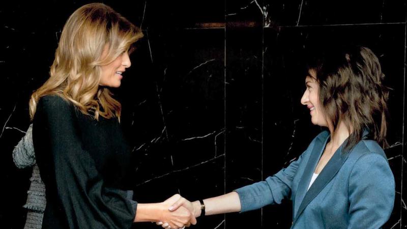 Աննա Հակոբյանը մարտի 4-ին Վաշինգտոնում հանդիպել է Մելանյա Թրամփի հետ