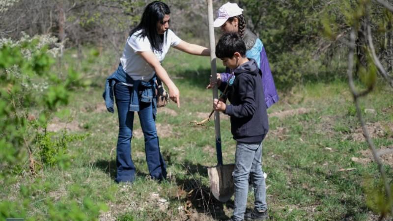 Համապետական ծառատունկի շրջանակում այսօր նախատեսվում է ամբողջ երկրում 360 հազար ծառ տնկել