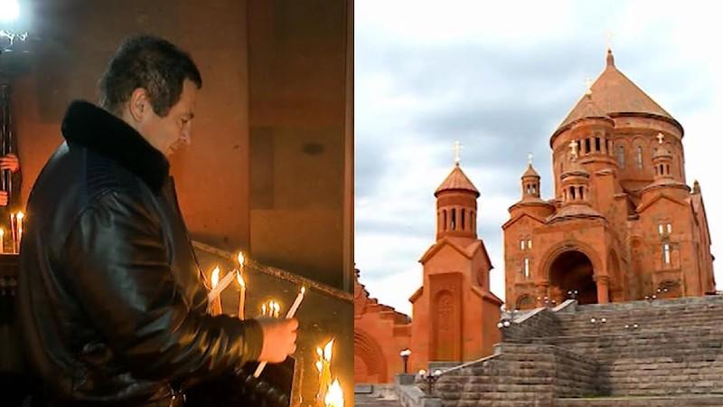 Գագիկ Ծառուկյանը մասնակցել է Սբ. Հարության տոնին նվիրված պատարագին (տեսանյութ)