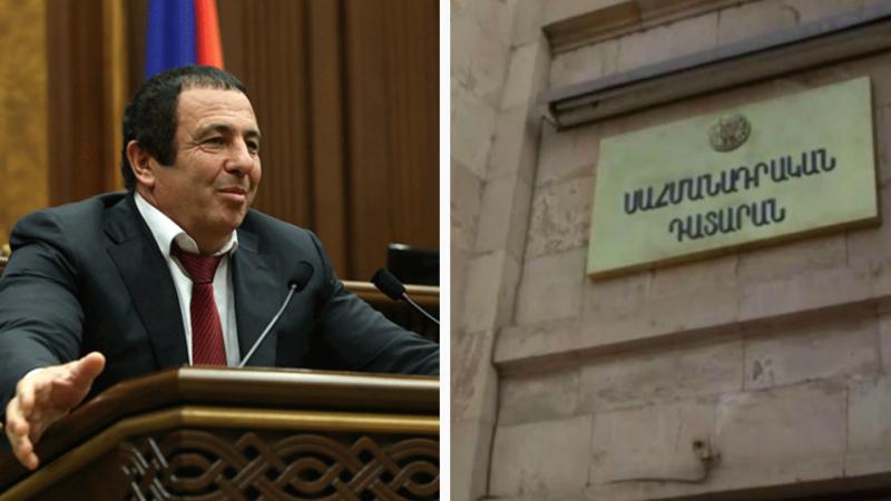 ՍԴ-ն ստացել է Գագիկ Ծառուկյանի պատգամավորական լիազորությունները դադարեցնելու հարցով՝ ԱԺ խորհրդի դիմումը