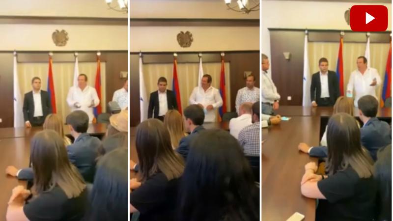 Գագիկ Ծառուկյանը պատասխանել է ԲՀԿ Երիտասարդների միության անդամների հարցերին (տեսանյութ)