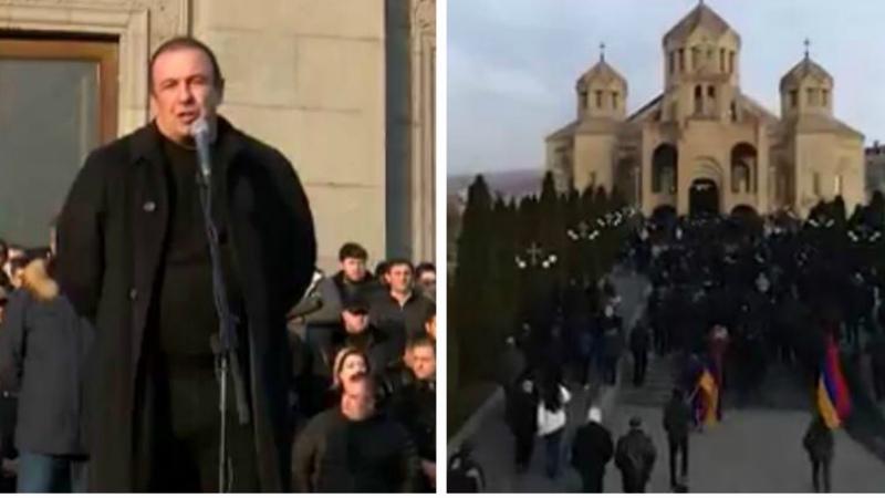 Հանգչեք խաղաղությամբ քաջե՛ր, հայ ազգը ձեր հիշատակին  արժանի երկիր է կառուցելու. Գագիկ Ծառուկյան