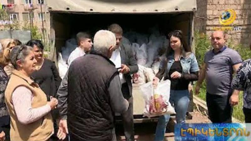 «Գ.Ծառուկյան» հիմնադրամը հերթական ակցիան է իրականացրել Արագածոտնի մարզում և Դավիթաշեն համայնքում