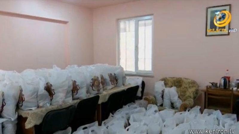 «Գ.Ծառուկյան» հիմնադրամը սննդամթերք է հատկացրել Երևանի տարբեր համայնքների բնակիչներին