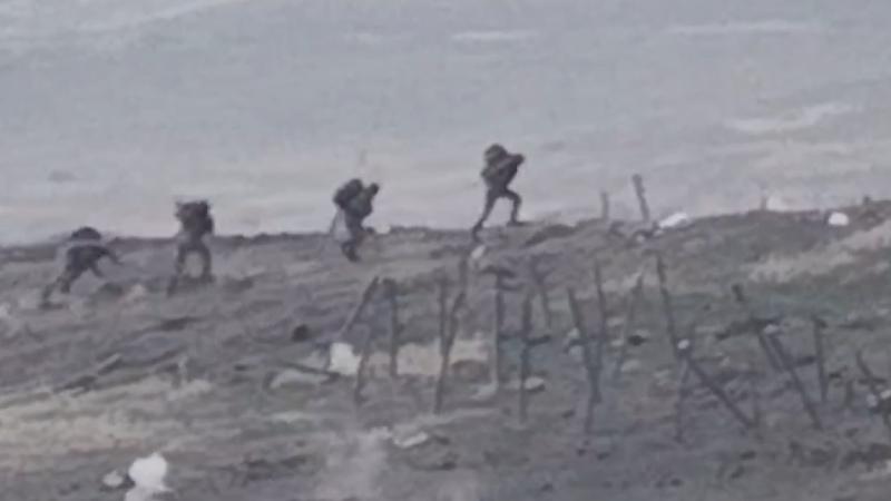 Հակառակորդի զրահատեխնիկայի խոցումը և ստորաբաժանման նահանջը. տեսանյութ