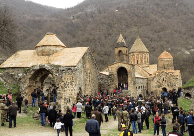 2017 թվականի համեմատ Հայաստանում զբոսաշրջությունն աճել է 10.5 %-ով