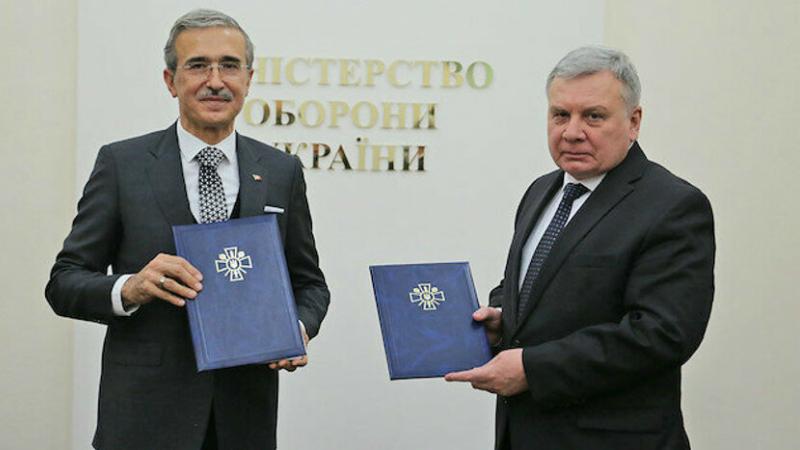 Թուրքիան և Ուկրաինան ԱԹՍ-ների և ռազմանավերի համատեղ արտադրության համաձայնագրեր են կնքել